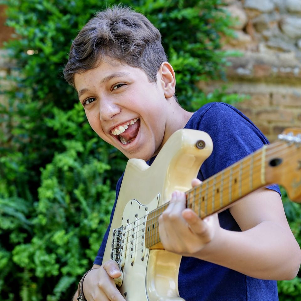 Yisrael Fernando vai participar do 'The Voice Kids' da TV Globo