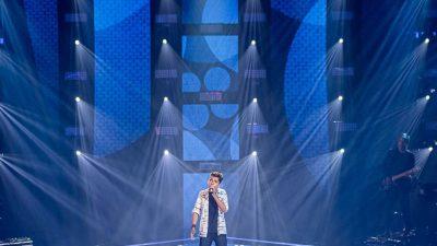 """""""Um sonho realizado"""", diz Yisrael após avançar no The Voice Kids"""