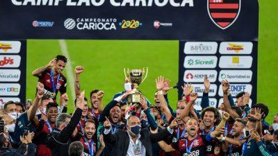 Flamengo vence o Fluminense e conquista o Campeonato Carioca