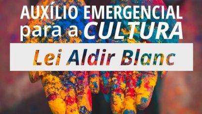 Governo do Estado abre cadastro para renda emergencial da Lei Aldir Blanc