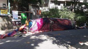 Com quase 30 metros é balão é apreendido em Itacoatiara