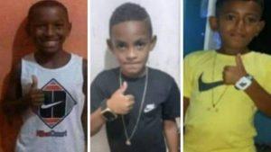 Polícia faz novas buscas, mas não encontra pistas de três crianças desaparecidas
