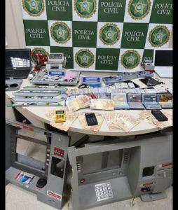 Quadrilha que clonava cartões bancários para sacar benefícios é desarticulada pela polícia