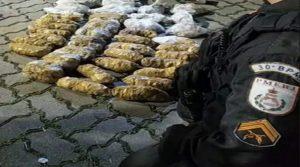 PM, apreendem grande quantidade de drogas em Teresópolis
