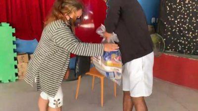 Projeto Lona na Lua distribui cestas básicas para mais de 1800 famílias de Rio Bonito