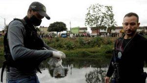 Polícia encontra ossos que podem ser de meninos desaparecidos em Belford Roxo