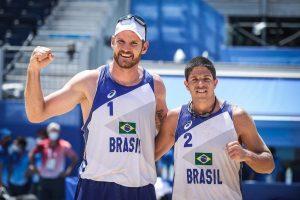 Vôlei de Praia: Alison e Álvaro vencem mexicanos e vão às quartas nas Olimpíadas de Tóquio