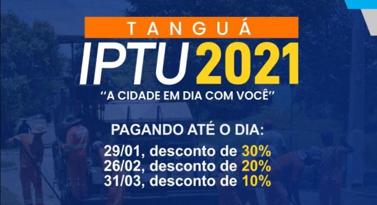 Tanguá oferece 30% desconto no IPTU 2021 até dia 29 de janeiro