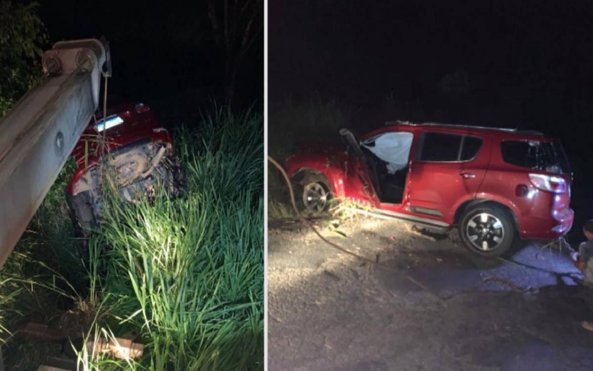 Presidente da Câmara de Silva Jardim sofre acidente de carro