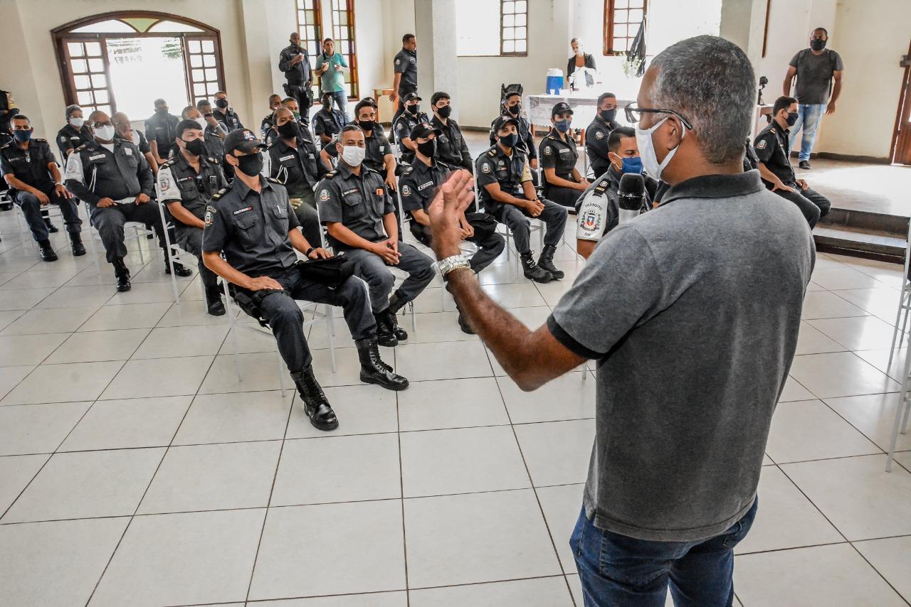 Guarda Municipal lança projeto de formação continuada