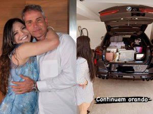 Marcio e Simone Poncio reatam casamento