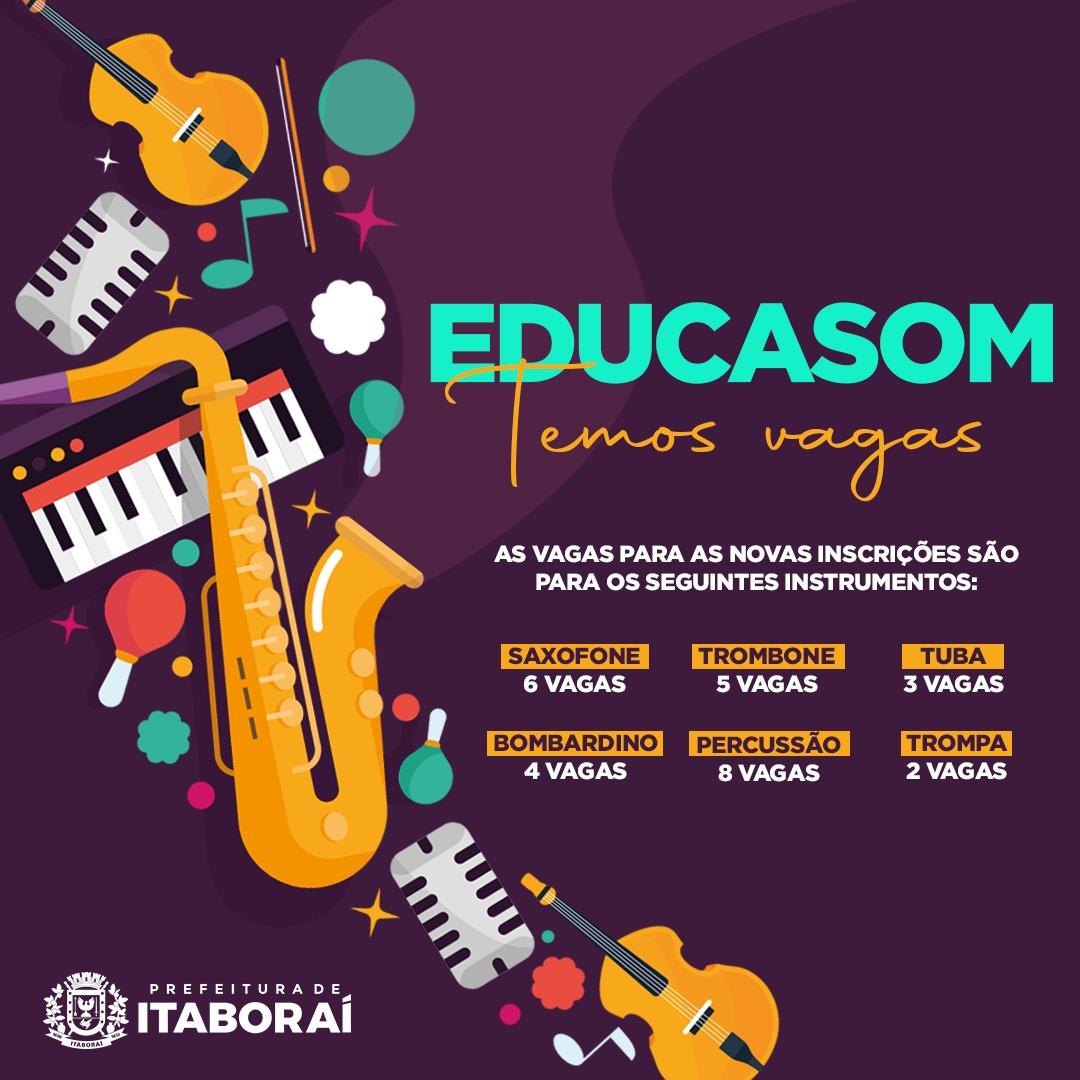 Projeto Educasom da Guarda Municipal de Itaboraí abre inscrições