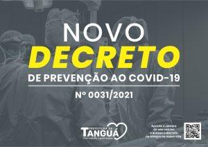 Tanguá adota novas medidas de restrição contra o avanço da Covid-19