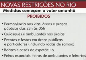 Agentes e câmeras vão fiscalizar ruas do Rio de Janeiro contra aglomerações