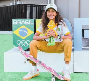 Sketista de 13 anos é chance de medalha para o Brasil nas Olimpíadas de Tóquio
