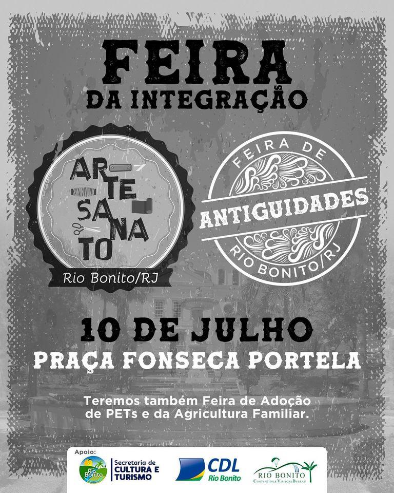 Prefeitura de Rio Bonito promove a Feira da Integração neste sábado,10