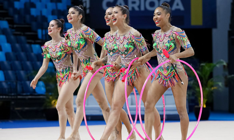 Seleção de ginástica rítmica do Brasil é convocada para Olimpíada de Tóquio