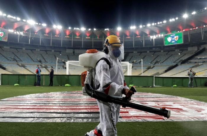 Prefeitura do Rio estuda liberar a presença de torcida na final da Copa América, no Maracanã