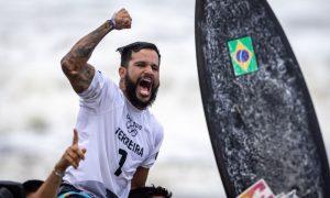 Surfista Ítalo Ferreira ganha 1º ouro do Brasil nas Olimpíadas de Tóquio