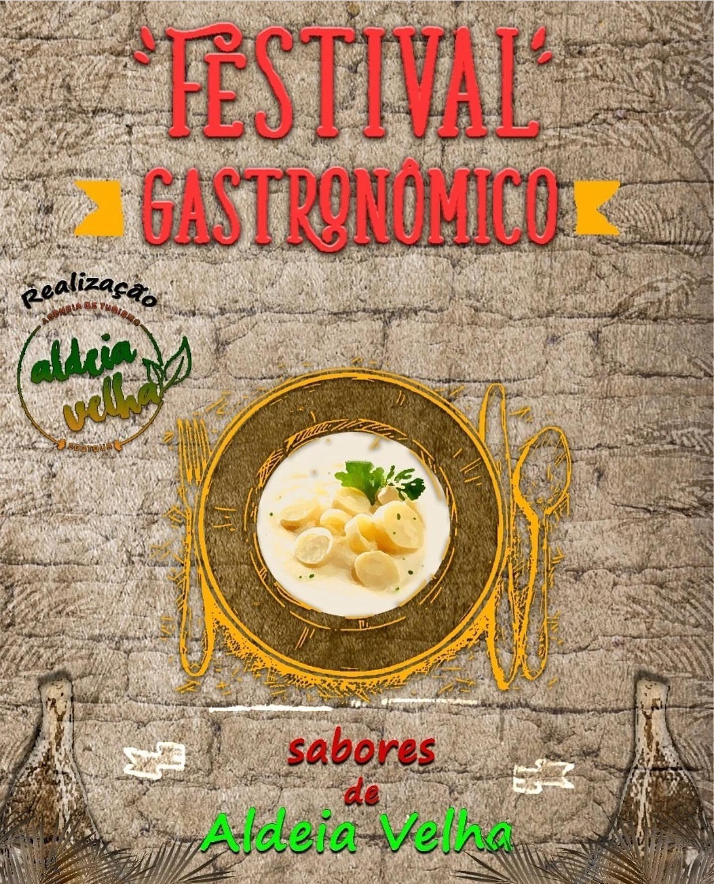 Começa o Festival Gastronômico de Aldeia Velha, em Silva Jardim. Evento será realizado até o dia 29