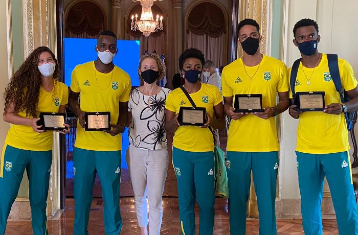 Prefeitura do Rio anuncia retorno de patrocínio ao Time Rio para as Olimpíadas 2024