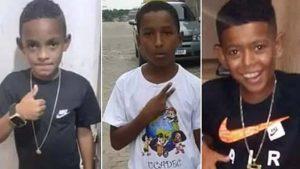 Ossada achada em rio não é dos meninos desaparecidos em Belford Roxo, diz perícia