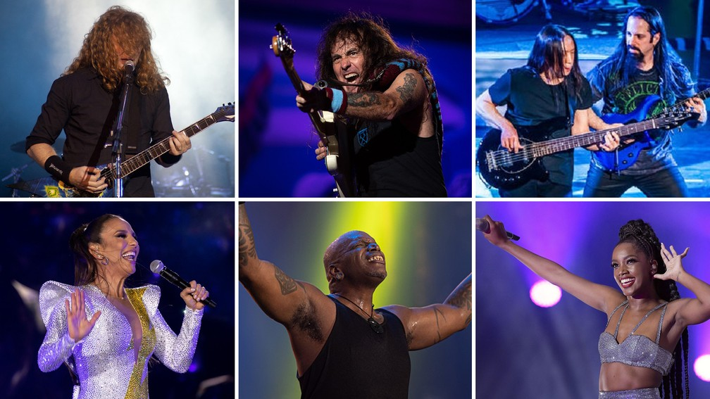 Rock in Rio 2022 anuncia Iron Maiden, Megadeth, Dream Theater, Sepultura, Ivete Sangalo e Iza