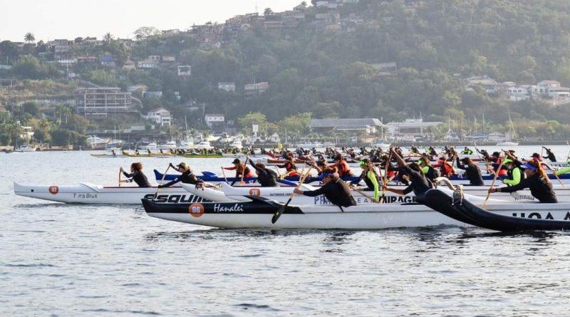Niterói recebe quase mil competidores em campeonato estadual de canoagem
