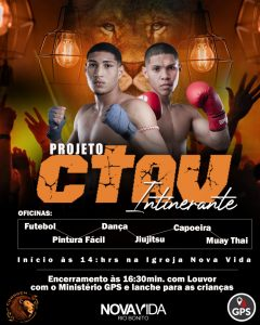 Projeto social CTAV Itinerante promove aulão em bairros de Rio Bonito