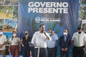 Governador Cláudio Castro inaugura polo da Faetec em Tanguá