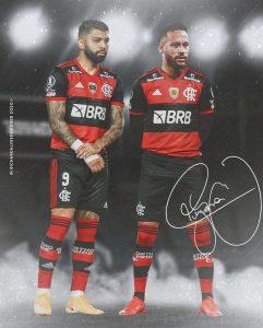 Gabigol convida Neymar para jogar no Flamengo: 'Já pensou?'