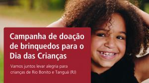 Em parceria com o Lona na Lua, Associação do Ministério Público do RJ lança campanha de doação de brinquedos para o Dia das Crianças