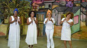 Grupo 'Matriarcas do Samba' se apresenta no palco do Theatro Municipal de Niterói neste sábado