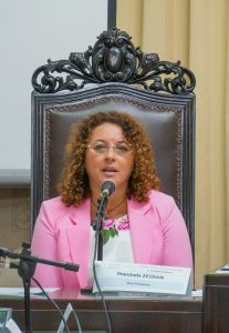 Deputada Zeidan apresenta Projeto de Lei que proíbe homenagens a agressores de mulheres