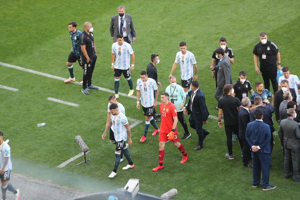Polícia Federal investiga jogadores argentinos por falsidade ideológica
