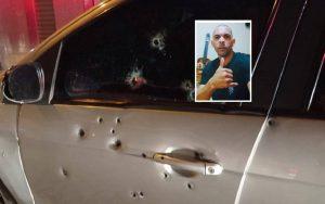 Homem é morto a tiros dentro do carro no bairro Varginha, em Silva Jardim