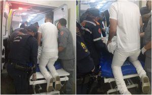 Equipes fazem força-tarefa para transportar idosa de 300 kg até hospital em Mairinque, SP