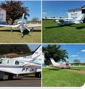 Bando faz 'arrastão' em aeroporto do Mato Grosso do Sul e leva aviões. Um deles era do cantor Almir Sater
