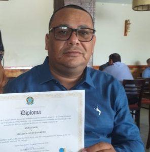 Vereador é morto a tiros em bar, em Santo Estêvão, na Bahia