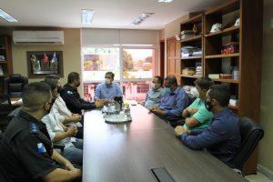 Prefeitura de Maricá e 12º BPM discutem ações de segurança na cidade